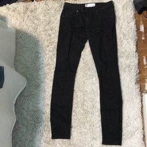 Tilly's RSQ ripped black skinny jeans, size 5